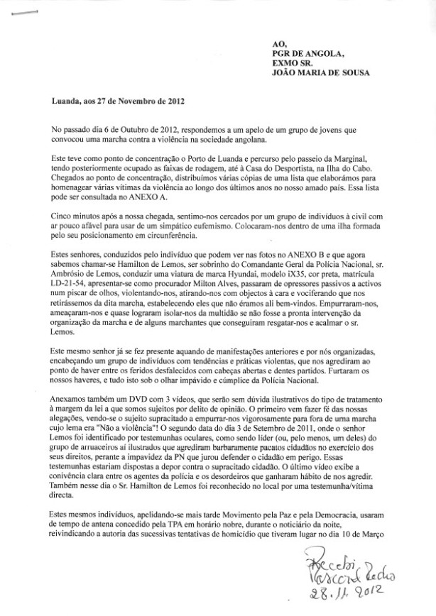 Carta PGR Pagina 1
