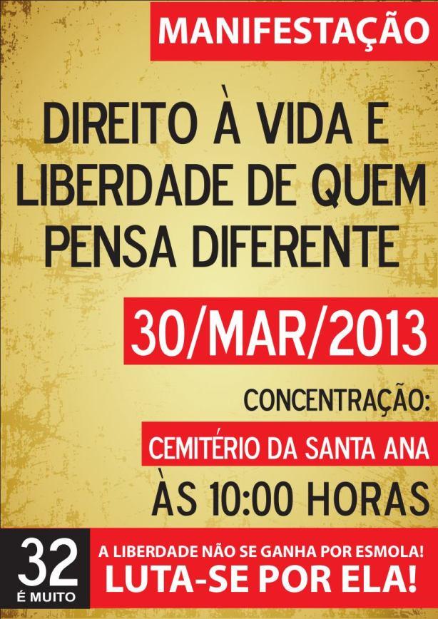 Panfleto 30 Março 2013