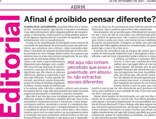 AGORA Editorial Manif