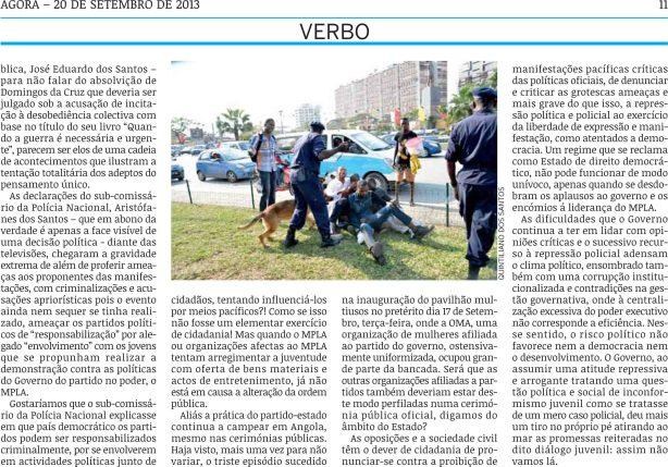 AGORA Mario Paiva Manif 02