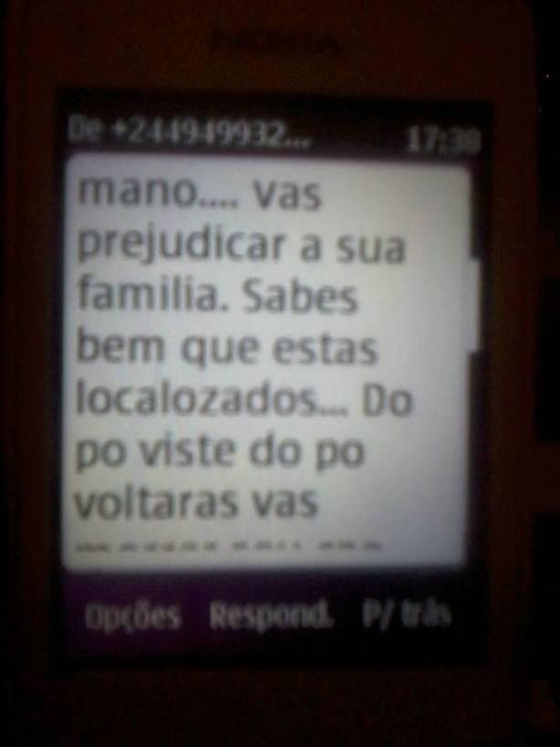 Manuel das Mangas Ameaça SMS 02