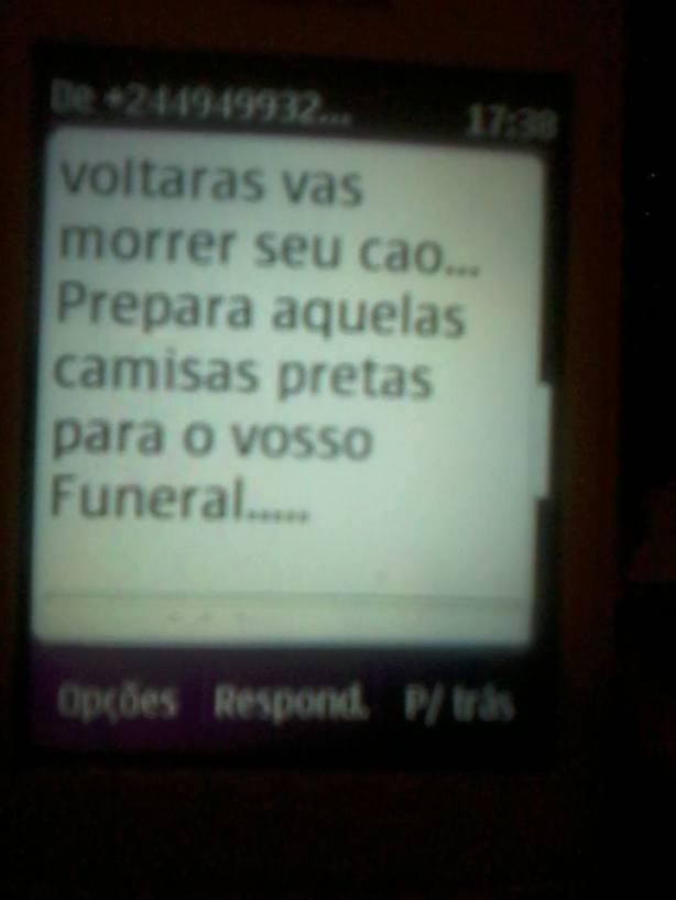 Manuel das Mangas Ameaça SMS 03