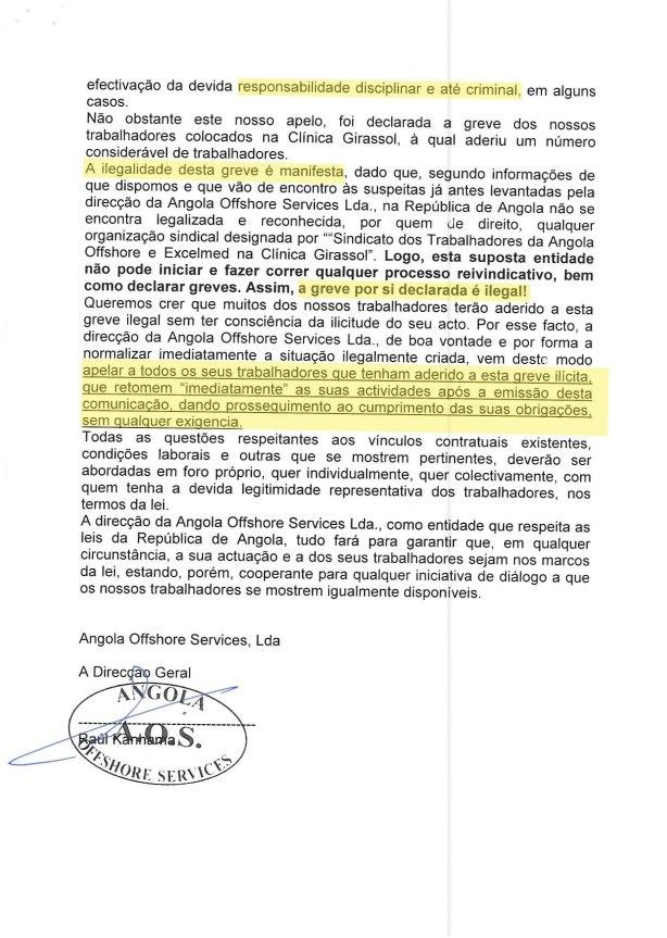Clinica Girassol AMEAÇA Excelmed 02