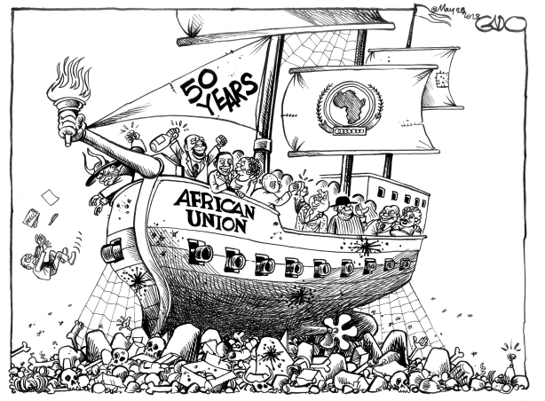 Cartoon May-28-13-50-Years-of-African-Union