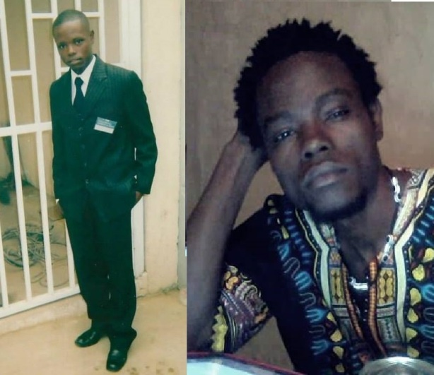 Mbanza Hamza em 2007 (esquerda) e 2014 (direita)