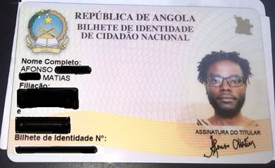 BI de Mbanza, com locks e sem documento da cultura.