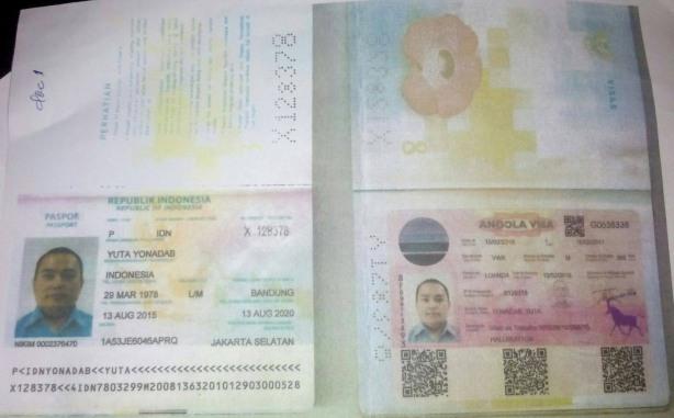 Halliburton Passaporte Indonésio