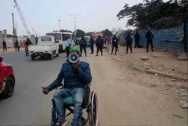 Manifestantes com Deficiência vs PIR